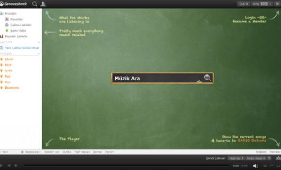 Grooveshark Ekran Görüntüleri - 1