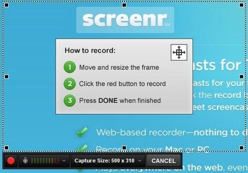 Screenr Ekran Görüntüleri - 1