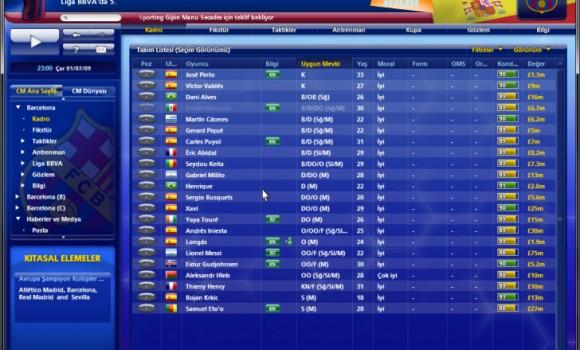 Championship Manager 2010 Ekran Görüntüleri - 3