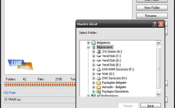 Free ISO Creator Ekran Görüntüleri - 3