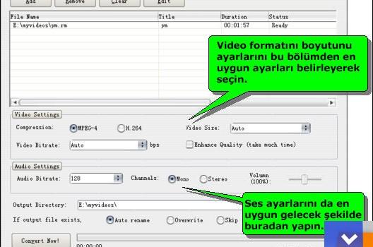 Freez iPod Video Converter Ekran Görüntüleri - 2