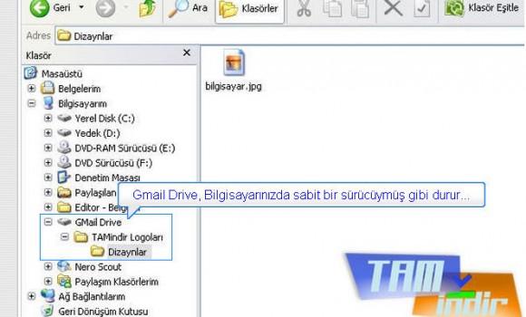 GMail Drive Ekran Görüntüleri - 1