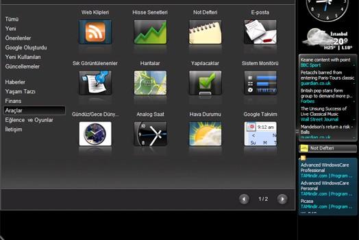 Google Desktop Ekran Görüntüleri - 3