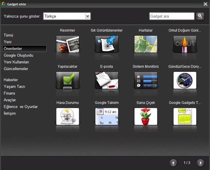 Google Desktop Ekran Görüntüleri - 2