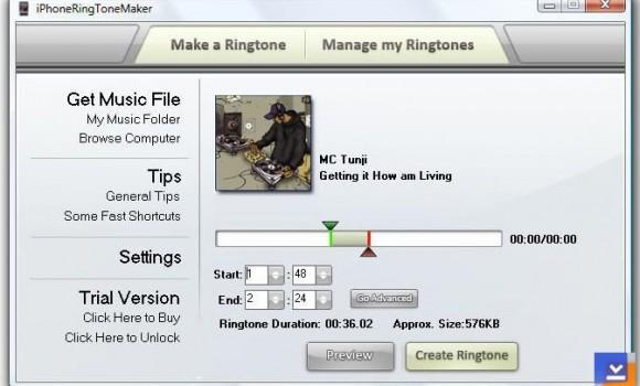 iPhoneRing ToneMaker Ekran Görüntüleri - 2