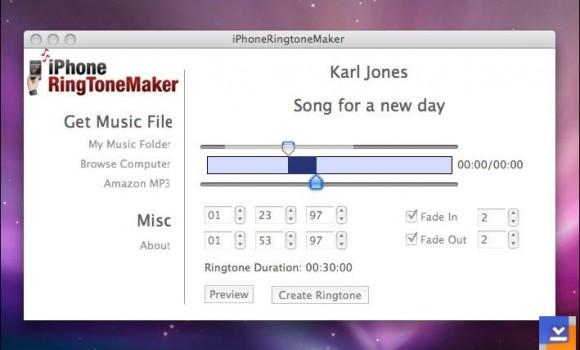 iPhoneRing ToneMaker Ekran Görüntüleri - 1