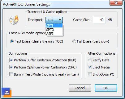 Active ISO Burner Ekran Görüntüleri - 2