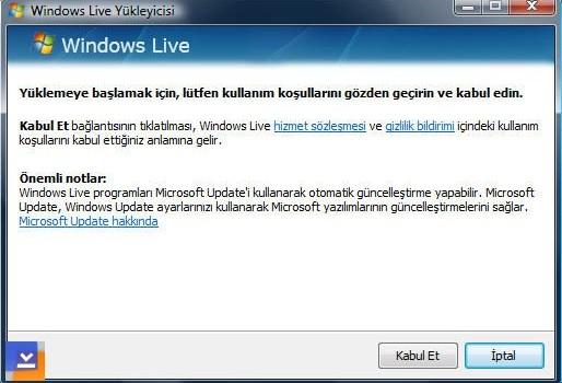 Windows Live Ekran Görüntüleri - 3