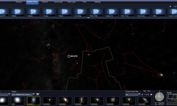 WorldWide Telescope Ekran Görüntüleri - 2