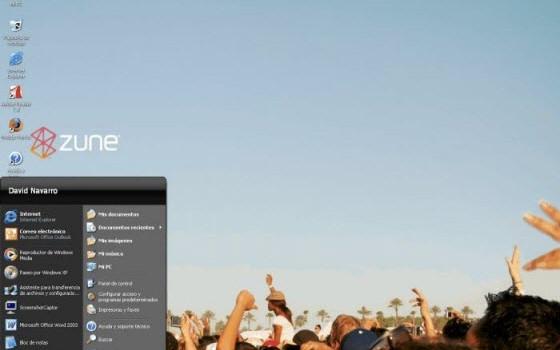 Microsoft Zune Theme Ekran Görüntüleri - 2