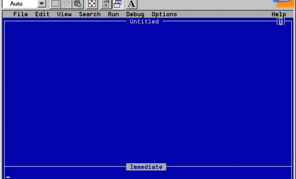 Qbasic 1.1 Ekran Görüntüleri - 1