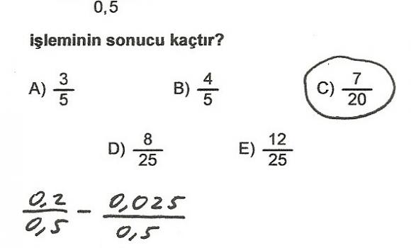 2006 ÖSS Soru ve Cevapları Ekran Görüntüleri - 1