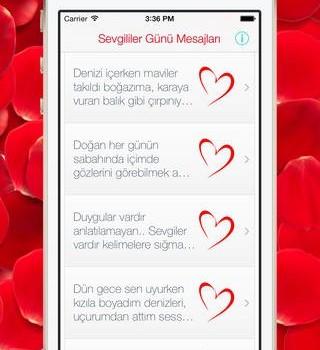 2014 Sevgililer Günü Mesajları Ekran Görüntüleri - 1