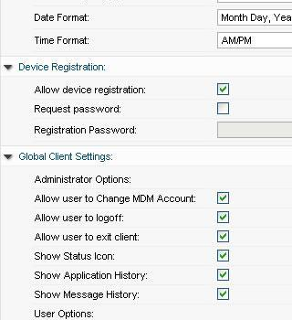 3CX Mobile Device Manager Ekran Görüntüleri - 1