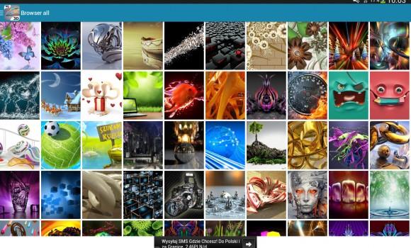 3D Wallpapers Ekran Görüntüleri - 3