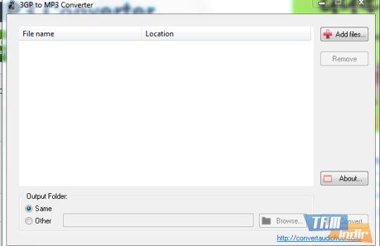 3GP to MP3 Converter Ekran Görüntüleri - 1