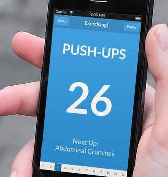 7 Minute Workout Ekran Görüntüleri - 5