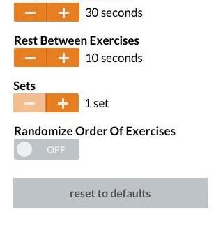7 Minute Workout Ekran Görüntüleri - 1