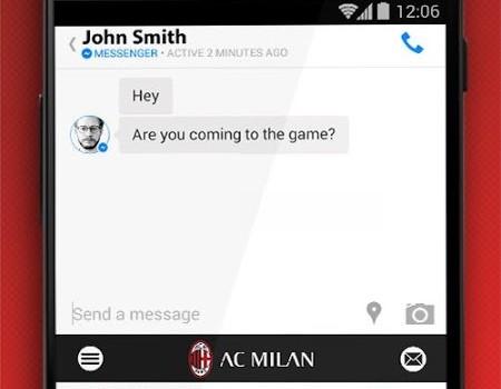 AC Milan Official Keyboard Ekran Görüntüleri - 2