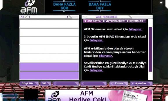 AFM Ajanda Ekran Görüntüleri - 1
