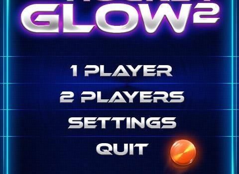 Air Hockey Glow 2 Ekran Görüntüleri - 1