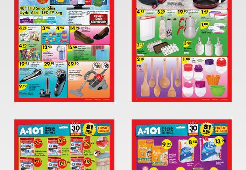 Aktuel Ürünler A101 Şok Ekran Görüntüleri - 3