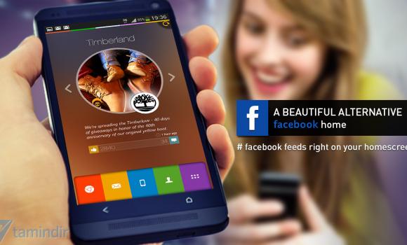 Alias Facebook Home Launcher Ekran Görüntüleri - 3