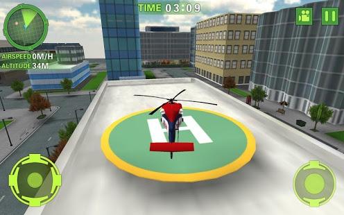 Ambulance Helicopter Simulator Ekran Görüntüleri - 3