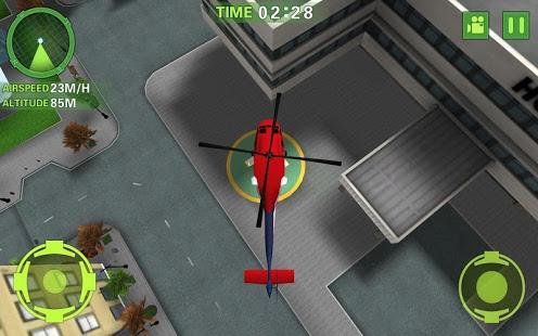 Ambulance Helicopter Simulator Ekran Görüntüleri - 2