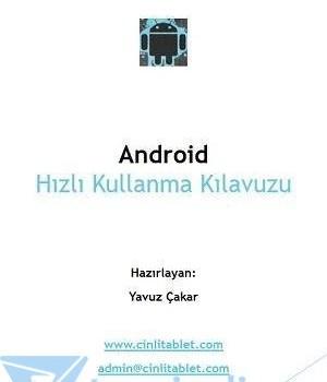 Android Hızlı Kullanma Kılavuzu Ekran Görüntüleri - 1