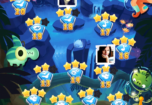 Angry Birds Stella POP! Ekran Görüntüleri - 1