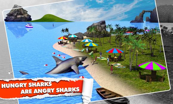Angry Shark Simulator 3D Ekran Görüntüleri - 2