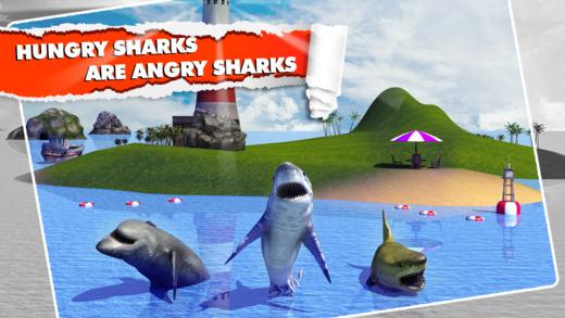 Angry Shark Simulator 3D Ekran Görüntüleri - 1