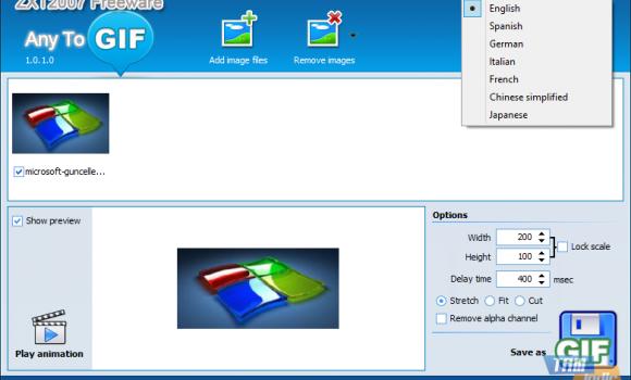Any to GIF Ekran Görüntüleri - 1