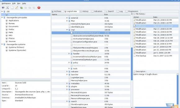 Areca Backup Ekran Görüntüleri - 3