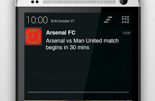 Arsenal Alarm Ekran Görüntüleri - 3