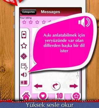 Aşk Mesajları & Aşk Sözleri Ekran Görüntüleri - 2