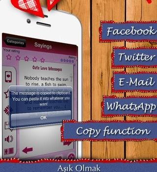Aşk Mesajları & Aşk Sözleri Ekran Görüntüleri - 1