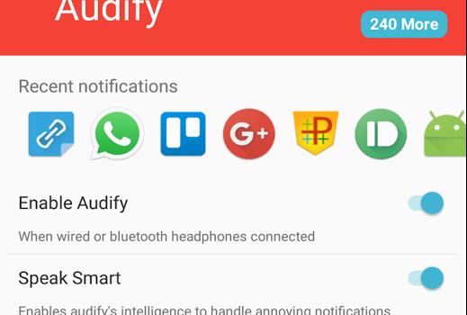 Audify Notification Reader Ekran Görüntüleri - 3