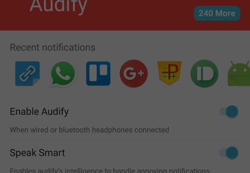 Audify Notification Reader Ekran Görüntüleri - 2