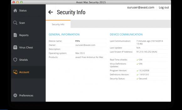 Avast Free Mac Security Ekran Görüntüleri - 2