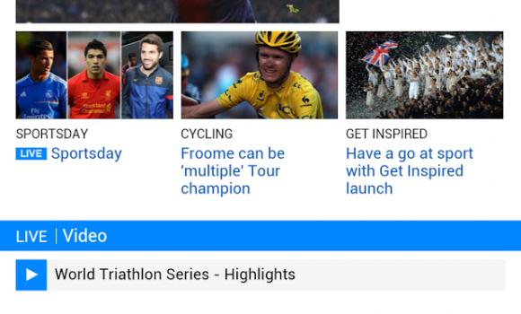 BBC Sport Ekran Görüntüleri - 1