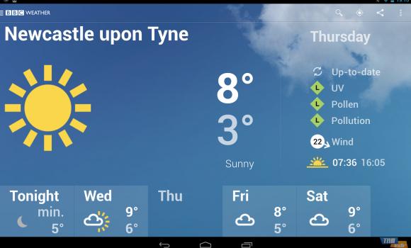 BBC Weather Ekran Görüntüleri - 5