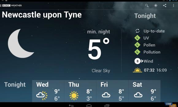 BBC Weather Ekran Görüntüleri - 4