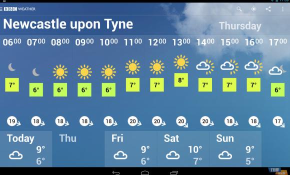BBC Weather Ekran Görüntüleri - 3