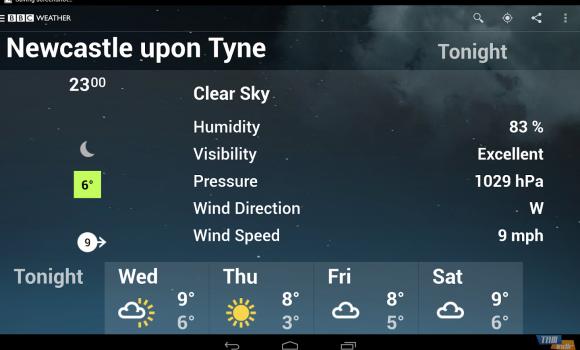 BBC Weather Ekran Görüntüleri - 2