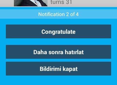 Birthdays for Android Ekran Görüntüleri - 2