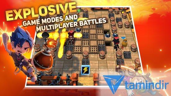 Blast Zone! Ekran Görüntüleri - 2