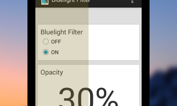 Bluelight Filter for Eye Care Ekran Görüntüleri - 4