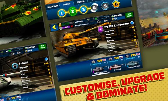 Boom! Tanks Ekran Görüntüleri - 2